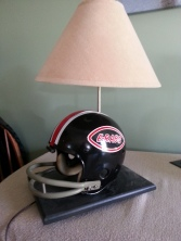 Throwback Rockford East High School football helmet. My helmet from Sophmore year.